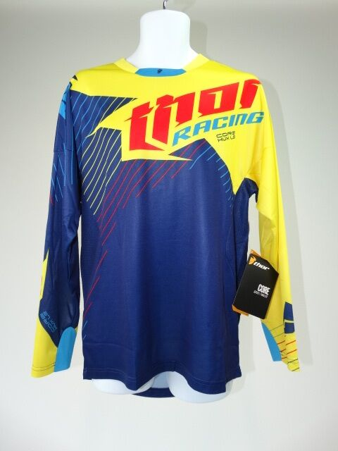 Thor core s16s jersey hux navy/yellow M-0
