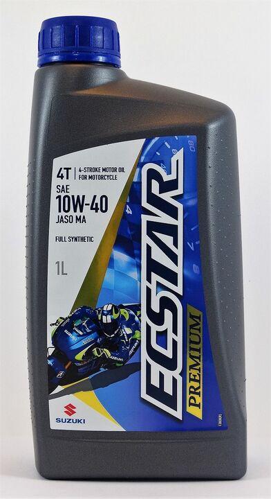Ecstar 4-stroke motor-oil SAE 10W-40 full synthetic 1L-0
