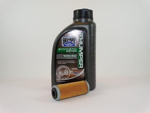 Belray 10W-50 4t oil 1L.+oliefilter-0