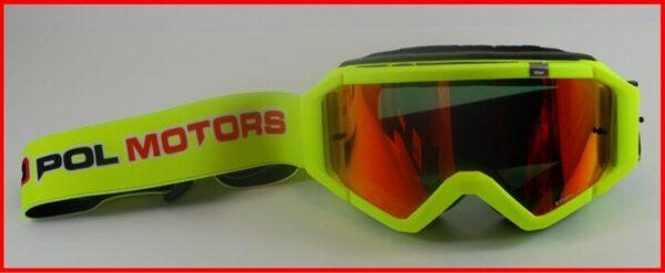 Ethen/Pol Motors crossbril neo yellow-0